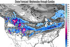 Significant Snow in the West at Last & Everywhere Else, Too