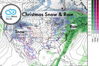 Snow Before You Go: Who Will Unwrap Powder on Christmas? - © Meteorologist Chris Tomer