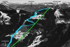 Powstaje największy region narciarski w Austrii - budowa kolejki TirolS zgodnie z planem - © Skicircus