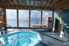 The Jacuzzi at the BEST WESTERN Rivers Edge