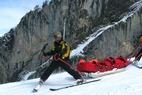 Dossier sur les métiers de la montagne : le pisteur secouriste