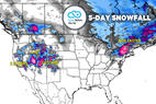 Nor'easter & Double Dose Snowstorms to Ring in Spring: 3.21 Snow B4U Go - © Meteorologist Chris Tomer