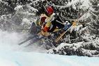 Franziska Steffen und Michael Schmid Schweizer Meister im Skicross - ©swiss-image.ch/Guenter Schiffm
