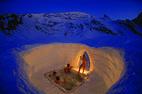 Śnieżne apartamenty: igloo, hi-tech namiot albo lodowy hotel - © Iglu Dorf GMBH