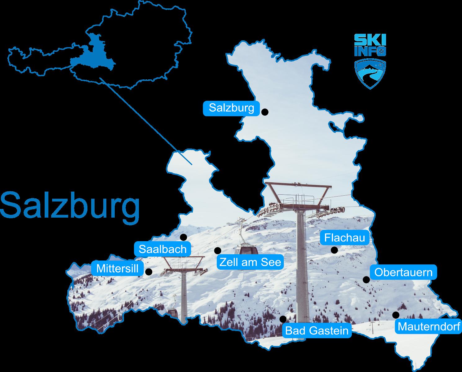 Karte Salzburg