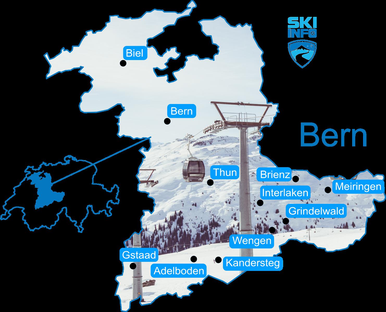 Karte Bern