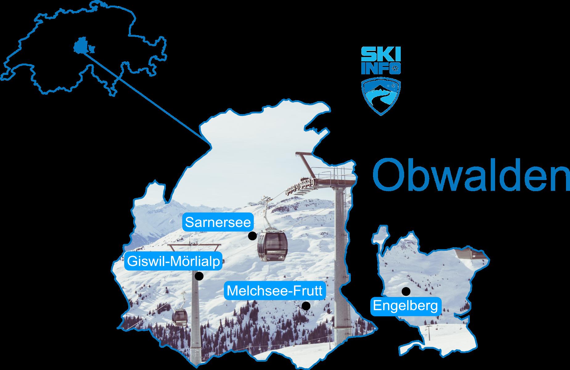 Karte Obwalden