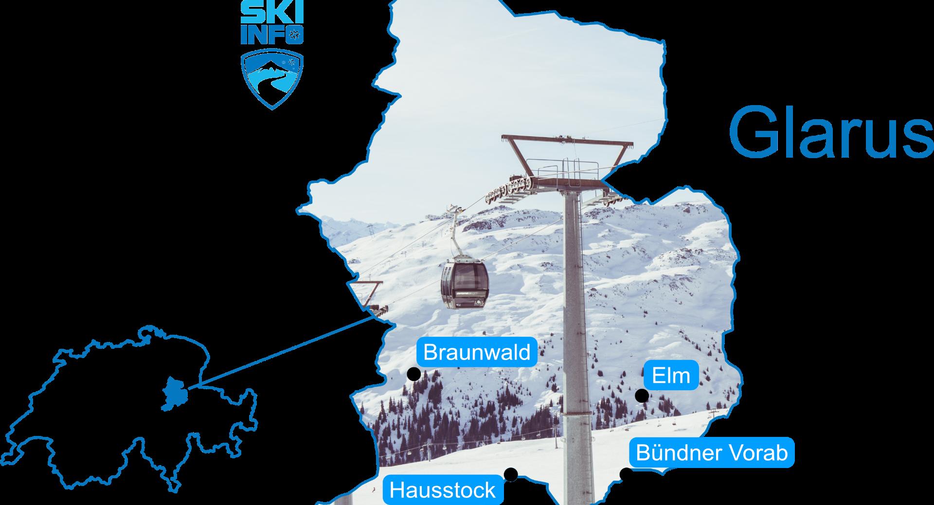 Karte Glarus