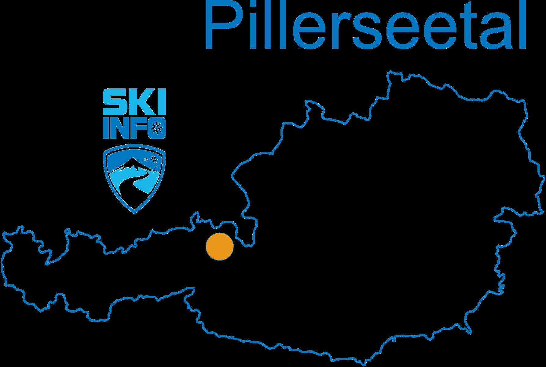 Karte Pillerseetal