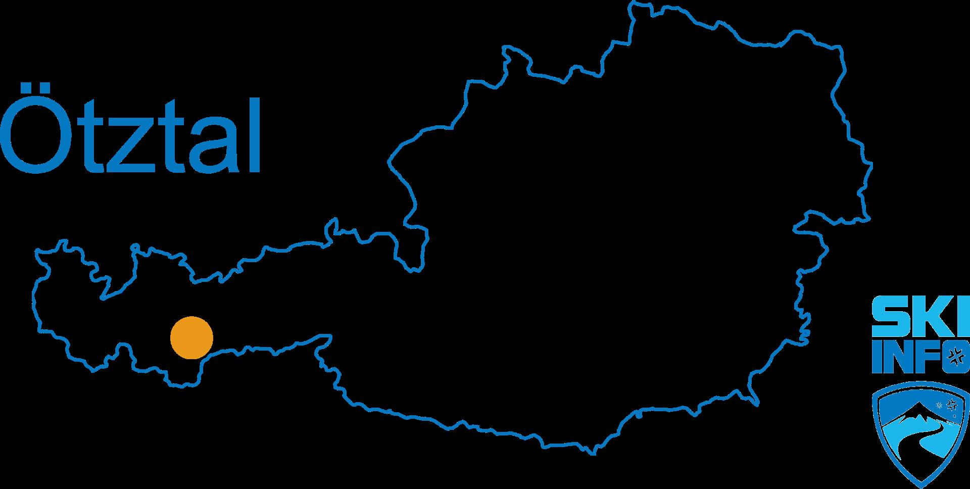 Karte Ötztal