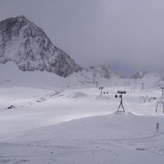 Schneebericht: Neuschnee in Österreich, Stubaier Gletscher und Sölden starten Skibetrieb - ©Stubaier Gletscher