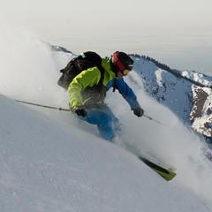 Skier cruisin - © http://www.skitheworld.de