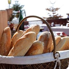 Home baked bread from the highest bakery in the Alps. Courtesy of Anne Boulliot