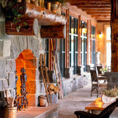 Meeting space at Whiteface Lodge  - © Whiteface Lodge