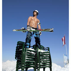 2014 Male Ski Instructor Calendar - ©Hubertus Hohenlohe/www.skiinstructors.at
