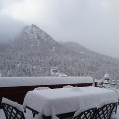 Alpine Meadows 1st snow - © Travis Ganong
