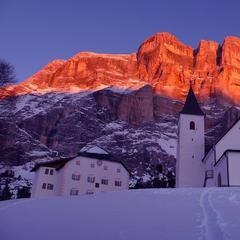 Dolomiti Superski - Ski safari. Credit Alta Badia Tourism