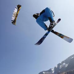 Snowkiting, czyli surfing na nartach lub desce – najlepsze miejscówki w Europie - ©Sandra Reiling/Kiteschule Skywalker