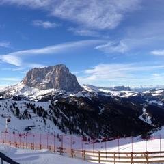 Panorama in Val Gardena - © Travis Ganong