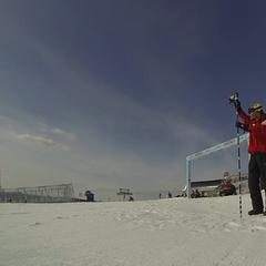 Hvordan sjekker skianleggene snødybden?