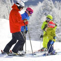 Okemo family skiing