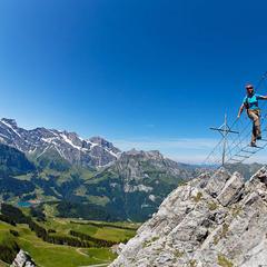 Klettersteig Brunnistoeckli in Engelberg - ©Iris Kürschner