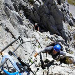 Klettern in Graübunden: Ein Ausflug ins Rätikon - © bergleben.de/Sebastian Lindemeyer