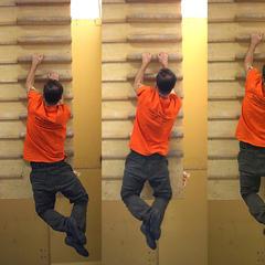 Training am Hangelboard sollte man erst als Fortgeschrittener anfangen - © bergleben.de