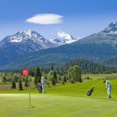 Golfplatz Samedan - © Graubünden Ferien | Andrea Badrutt