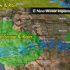Meteorologist Chris Tomer, El Niño - © Meteorologist Chris Tomer