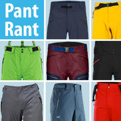2015/2016 Men's Ski Pants Buyers' Guide
