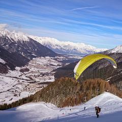 Paragliding na Elferi - © Hochstubai-Liftanlagen GmbH, Elferbahnen