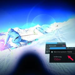 Smart Ski Goggles - inteligentne goggle - © Ski amade
