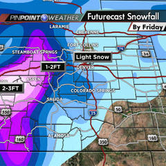 Co forecast for Christmas - ©Meteorologist Chris Tomer