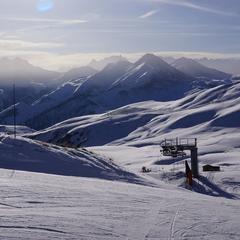 journée ensoleillée ski les sybelles - © Office de Tourisme de La Toussuire