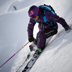 GORE® C-KNIT™ backer : New Level of Comfort for freeriders - ©GORE-TEX®