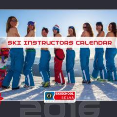 Kalendarz dobroczynny: Instruktorki narciarstwa z Val Gardena - ©Scuola Sci Selva http://www.scuolasciselva.com - Robert Perathoner ski instructor & photographer - www.foto-prodigit.com