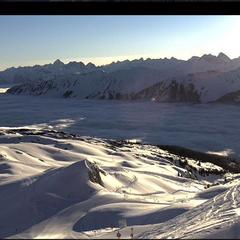 Beste Bedingungen am Morgen des 18.2.16 im Kleinwalsertal - © Kleinwalsertal
