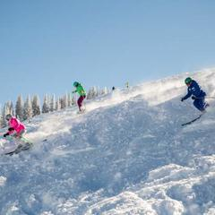 Skiing powder with the ladies  - © Vail Daily