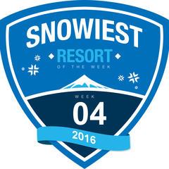 Snowiest Resort of the Week - 4. kalendárny týždeň - © Skiinfo