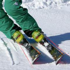 3. Come tenere gli sci paralleli - ©LaStampa.it