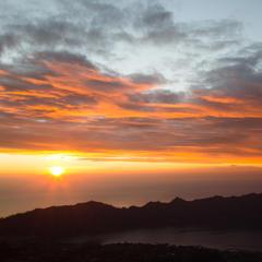 Sonnenaufgang am Mount Batur (Bali) - ©Sebastian Lindemeyer