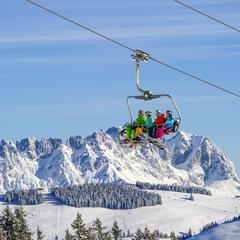 Najväčšie lyžiarske strediská v Rakúsku: 2 – Wilder Kaiser - Brixental - ©Christian Kapfinger