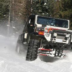 Consigli pratici di guida 4x4 su neve e ghiaccio