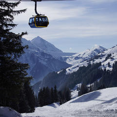 Our first day's skiing on the Ahorn in Mayrhofen - ©Mayrhofen Bergbahnen
