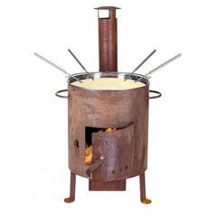 Four à fondue et grill géant