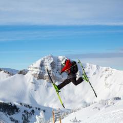 VCA Jackson Hole jumps - © Jackson Hole Mountain Resort