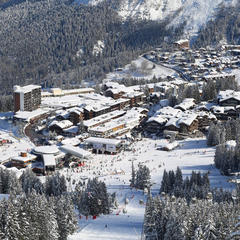Courchevel pr sentation de courchevel la station le domaine skiable - Office du tourisme courchevel 1850 ...