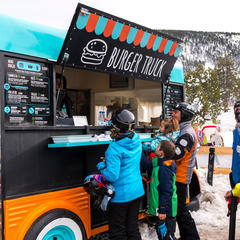 food truck au ski - © Port Ainé - FGC