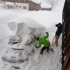 Rychlý přehled: Aktuální stav sněhu v Evropě - ©Facebook / Thomas Leitner aus Mühlbach am Hochkönig